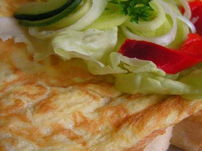 Sendvics-vajecnouomeletou